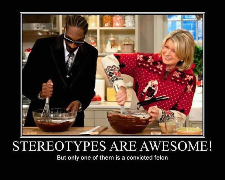 Celebrity Convicts – Snoop Dogg & Martha Stewart – Stereotypes