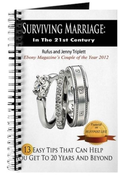 jenny triplett, rufus triplett, Ebony Magazine, Couple of the Year, surviving marriage, ebook sale, rufus and jenny, cafepress, muslimworld, marriage journal