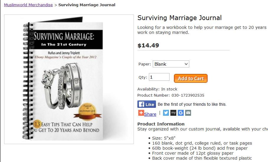 Jenny Triplett, Rufus Triplett, Media Personalities, Motivational Speakers, Business Speakers, Ebony Magazine, Surviving Marriage, Surviving Marriage Journal