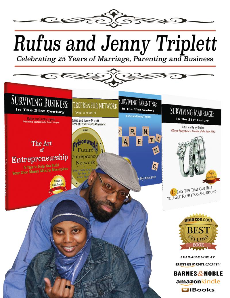Surviving Series Books, Jenny triplett, Rufus Triplett, 25 years of marriage
