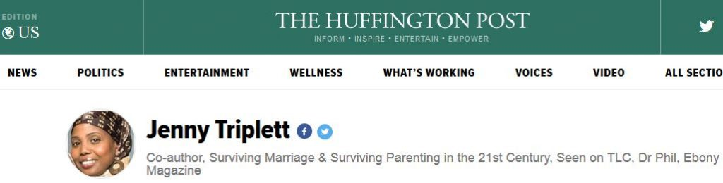 Huffington Post, Good Men Project, Buzz Feed, Today Show, Today Show Parenting Team, Surviving Parenting, jenny triplett, parenting advice, rufus triplett, surviving parenting, surviving parenting in the 21st century, Surviving Marriage in the 21st Century