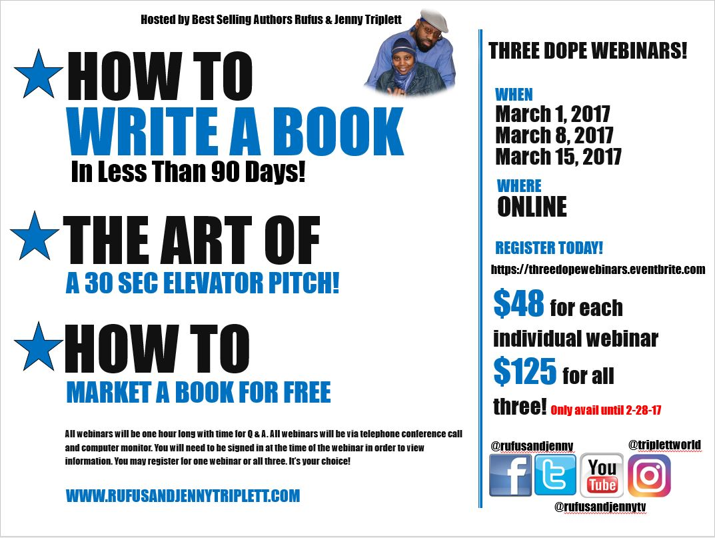 Couples,webinars, books, authors, writers, Jenny Triplett, Rufus Triplett