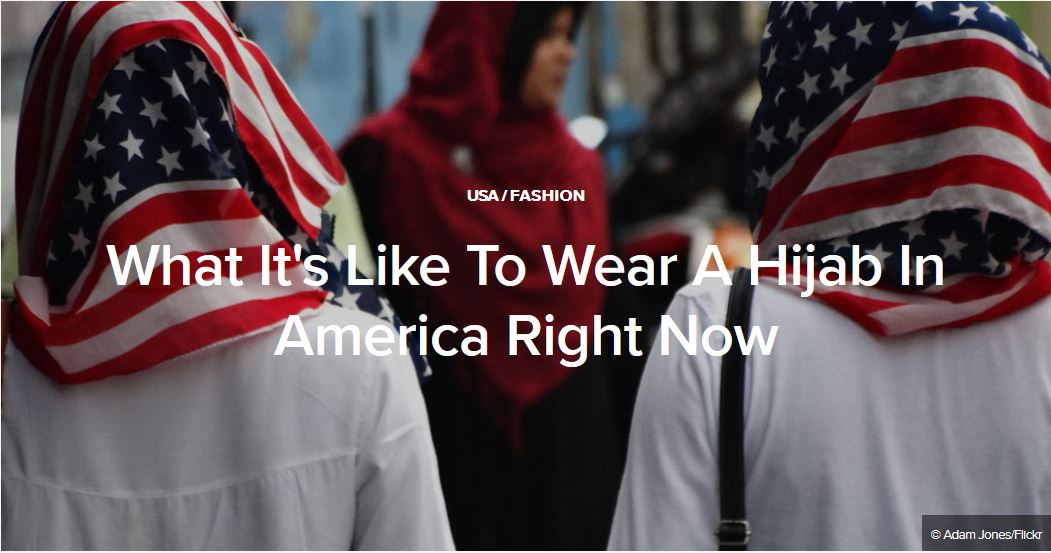 What It's Like To Wear A Hijab In America Right Now