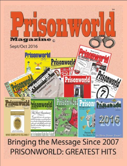 Prisonworld Magazine on Amazon, Prisonworld, Jenny Triplett, Rufus Triplett, Ga Dep of Corr, Rufus and Jenny, Rufus and Jenny prison volunteers