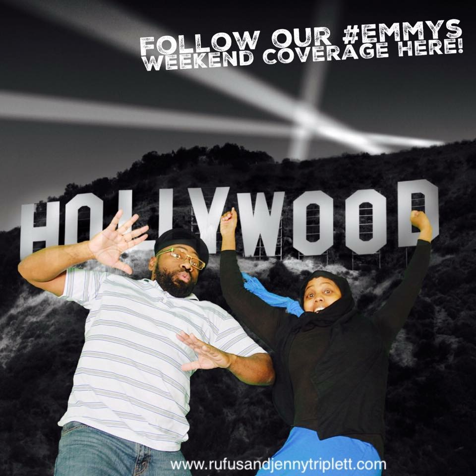 The Triplett's Take Hollywood for Emmys Weekend