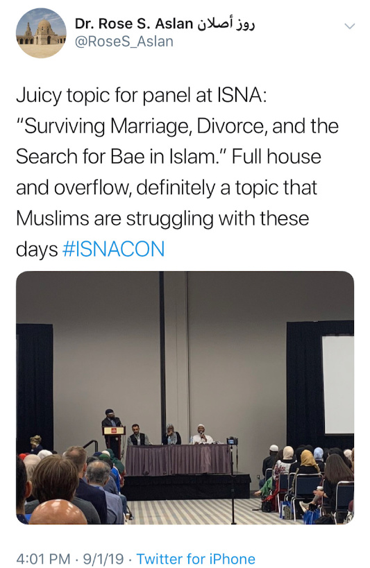 All Star Muslim Marriage Panel At ISNA