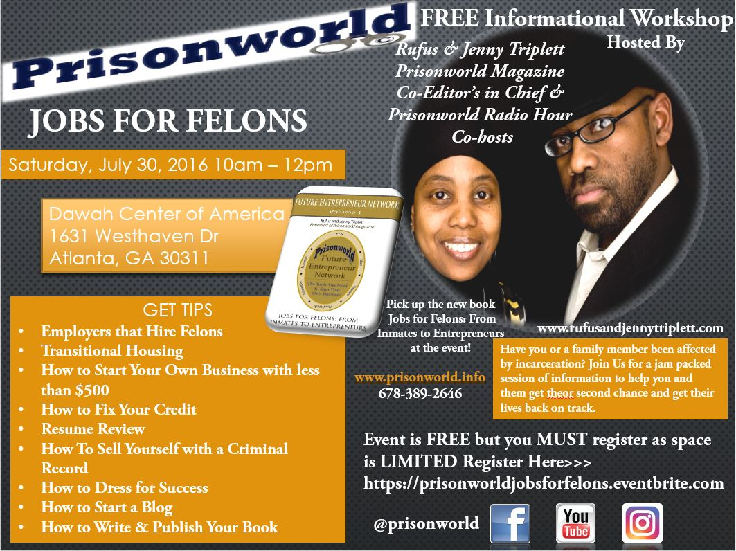 Prisonworld - Jobs for Felons