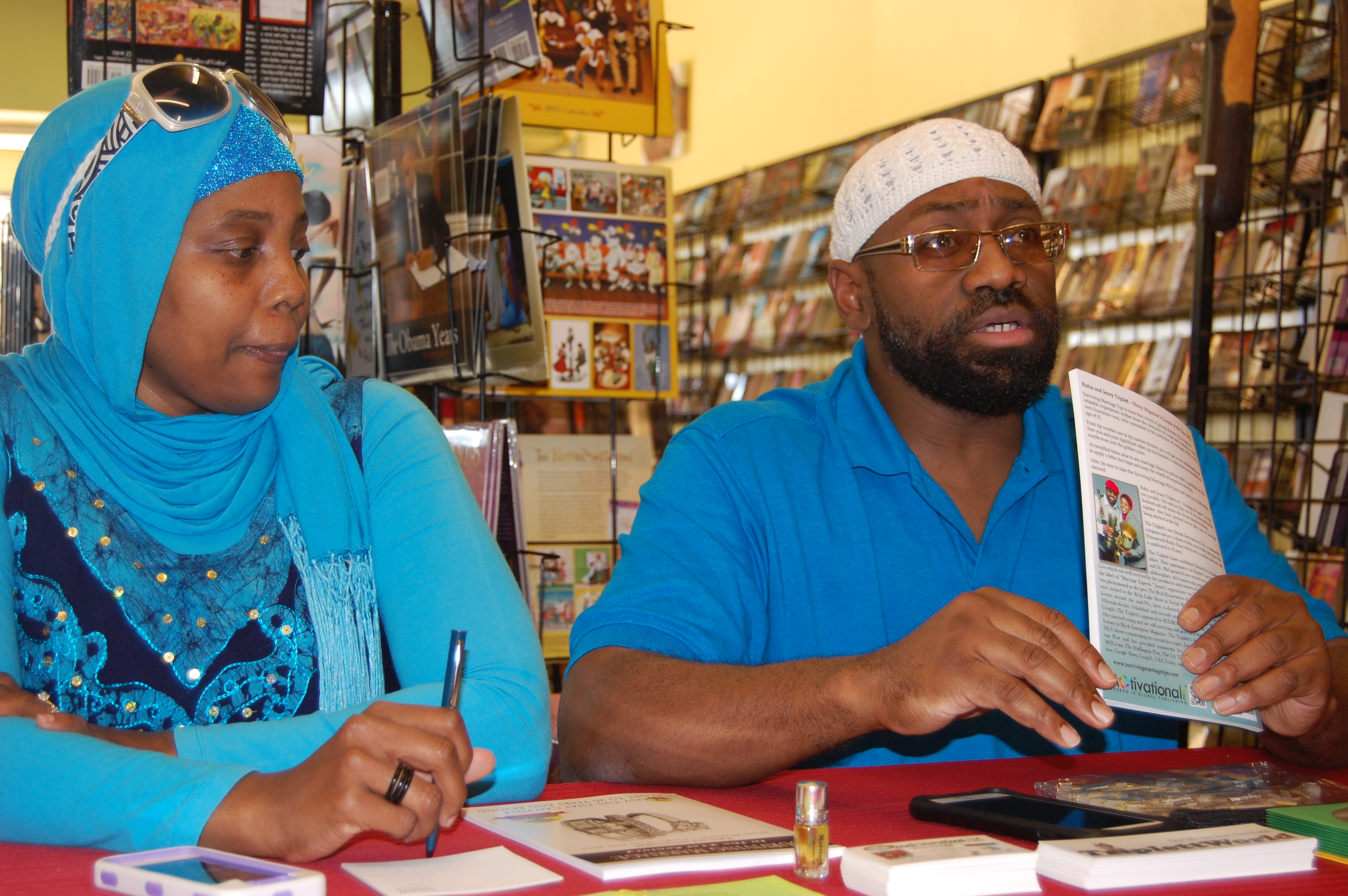 California Love – Ebony's Couple of the Year Shares Marriage Tips at LA Book Signing