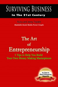 The Art of Entreprenuership on Rufus and Jenny Triplett.com