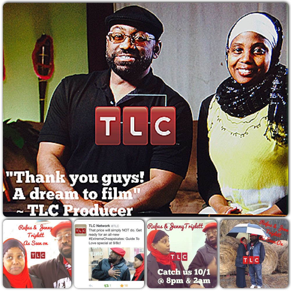 Jenny and Rufus Triplett on TLC collage